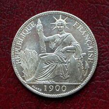 Français indo china 20 cents argent 1900