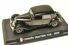 COLLECTION HACHETTE AUTO PLUS  IXO 1/43 CITROEN TRACTION AVANT  11 AL 1935  /4