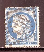 FRANCE  N° 60 GC 463 BESSEGES, GARD. Bleu foncé, beau.