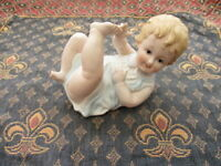 Vintage Bisque Baby Piano Doll Number 7534