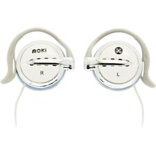Moki Clip On Earphones - White
