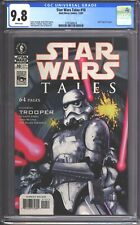 Star Wars Tales #10 CGC 9.8 (2001) Leinil Francis Yu Cover - RARE Comic Book