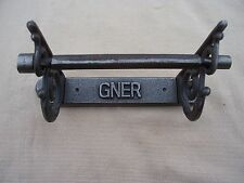 GNER hand cast vintage style  toilet roll holder in Antique iron finish