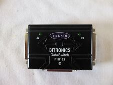 BELKIN BITRONICS SWITCH F1U123    3- Port Data-Switch