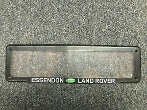 Standard Slimline Number Plate Cover - Essendon Land Rover - Used.