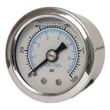 Marshall Öldruckmesser Öldruckanzeiger Scale Face 100PSI für Harley - Davidson