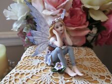 "Blonde Fairy Garden Miniature 3 3/4"" fairy figurine Pacific Giftware New"