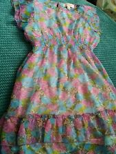 girl2girl summer dress 6-7 years flower print