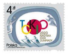 Poland / Polen 2021 - Fi 5163** XXXII Olympic Games Tokyo 2020