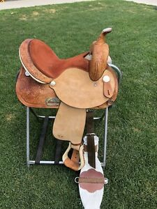 "14"" Circle y - barrel saddle"