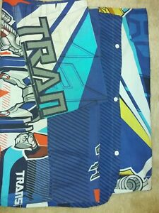 Childs Transformers Single bed Cover And Pillowcases Used
