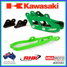 Kawasaki KX250F 09 - 16 RTECH Chain Slider RHK Rear Chain Guide Green