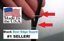 Trim Molding 4 Door Kit USA made DOOR EDGE GUARDS GLOSS BLACK fits:(Silverado)