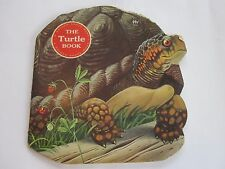 1965 The Turtle Book by Mel Crawford - A Golden Shape Book