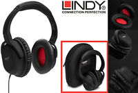 Lindy NC-60 Active Noise Cancelling Headphones Headset Stereo Over Ear Wired