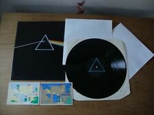 PINK FLOYD THE DARK SIDE OF THE MOON UK 1977 Press SUPERB + Posters & Stickers