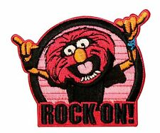 The Muppets Animal Rock Embroidered Iron On Licensed Applique Patch