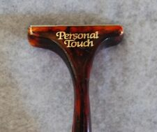 Personal Touch Razor Handle Tortoiseshell