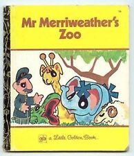 Mr Merriweather's Zoo Lewis LGB little golden book rare vintage 1975