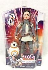 "Star Wars Forces Of Destiny Rey Jakku 11"" Doll BB-8 Action Figure Adventure Set"