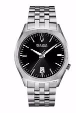 Bulova Men's 96B214 Accutron II Surveyor Quartz Black Dial 41mm Bracelet Watch