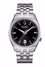 Bulova Men's 96B214 Accutron II Surveyor Quartz Black Dial 41mm Bracelet Watch