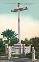 SAN JOSE CA – Mission Cross at Santa Clara Mission near San Jose