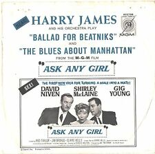 HARRY JAMES--PICTURE SLEEVE ONLY--(BALLAD FOR BEATNIKS)--PS--PIC---SLV