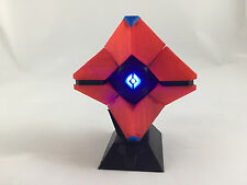 3D Printed Destiny Ghost Replica - Red & Black with Blue Tips