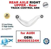 Rear AXLE RIGHT UPPER Rear SUSPENSION TRACK CONTROL ARM for AUDI OEM: 8K0505324H