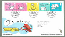 Royal Mail 2004 FDC - OCCASIONS - Shs Tallents House Edinburgh - Fine Condition
