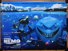 Finding Nemo 2003 Original Quad Film Poster