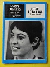 Paris Théâtre n° 238 Paul Claudel L'Ours et la Lune