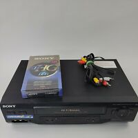 Sony SLV-N51 HiFi Stereo Video Cassette Recorder VHS Player