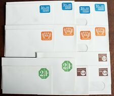 USA – 4 Issues Postal Stationery Envelopes for Charity Use Only – Scarce & Mint
