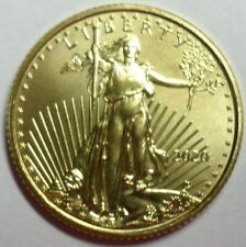 "2020 $5 GOLD  Eagle Coin   1/10 Oz -  Brilliant Uncirculated-- "" Take a  Look """