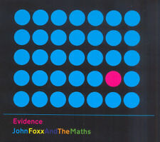 John Foxx and The Maths : Evidence CD (2013) ***NEW*** FREE Shipping, Save £s