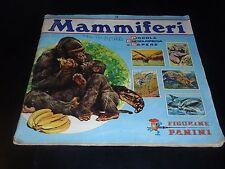 ALBUM PANINI – I MAMMIFERI - I ED. 1976 - MANCANTE DI 20 FIGURINE (SU 400)