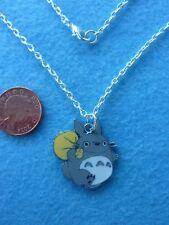 "TOTORO Necklace 18"" Chain Enamel Charm pendant Birthday Gift Present # 174"