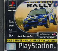 Colin McRae Rally (Sony PlayStation 1, 1998) - Komplett!