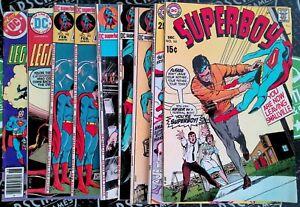 Superboy Lot 1969 DC Comics Superman Batman Lone Wolf Krypto The Super Dog