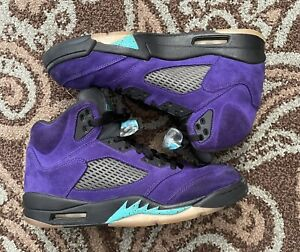 Air Jordan 5 Alternate Grape Men Size 9.5