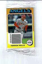 2011 Topps Lineage 1975 Mini Relics #75R-VW Vernon Wells Angels - New in Package