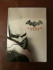 XBOX 360 BATMAN ARKHAM CITY STEELBOOK GAME