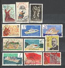 Q9001 - ROMANIA 1960 - LOTTO USATI DIFFERENTI N°1755/82 - VEDI FOTO