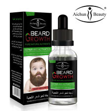 Beard Growth Oil Serum Fast Growing Beard Mustache Facial Hair Grooming for Men
