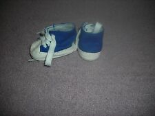 "NEW BLUE TENNIS SHOES FOR AMERICAN GIRL DOLL & 18"" DOLLS or 18"" BOY DOLL'SALE'!"