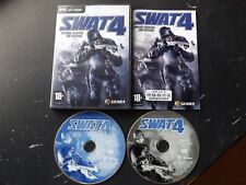 Original Swat 4 armas especiales y tácticas de PC-CD (acción estratégica & shoooter