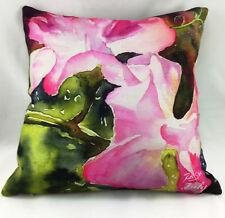 Pink Flower Burst by Ruth S Harris (Artist) Evans Lichfield Cushion Cover