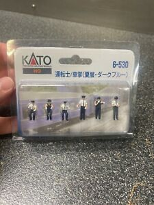 NOS Kato HO Scale 6-530 Motorman And Conductor White And Dark Blue